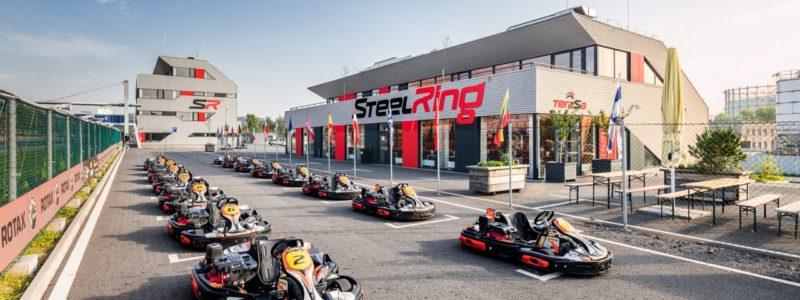 Dopravní hřiště – STEELKART Racing Třinec (vč. skladové haly a dílny autoservisu v Třinci)