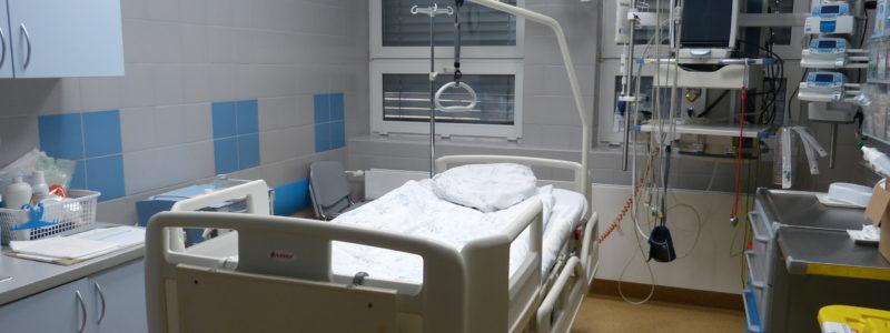 Rekonstrukce Mezioborové jednotky intenzivní péče v Nemocnici Třinec