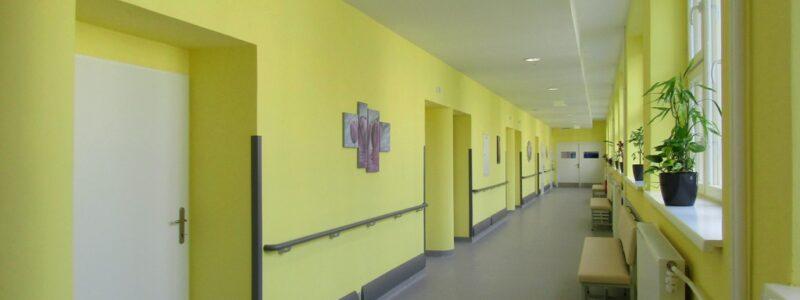 Úprava lůžkového oddělení – 1. etapa, Sanatorium Jablunkov