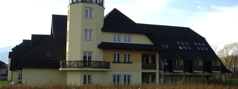 Novostavba Domu s pečovatelskou službou v Bystřici
