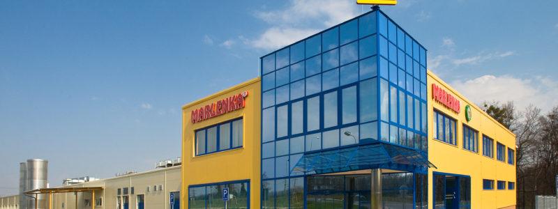 Stavba výrobní haly pro Miko Marlenka, Frýdek Místek