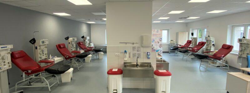 Stavební úpravy transfuzního oddělení Nemocnice AGEL Nový Jičín