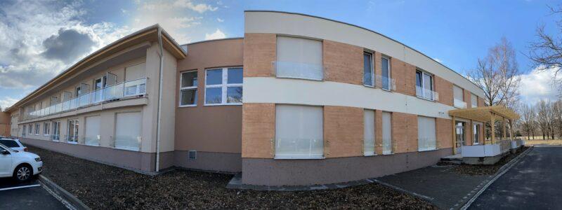 Rekonstrukce ubytovací části a přístavba budovy D (Nový Domov, p.o., Karviná)